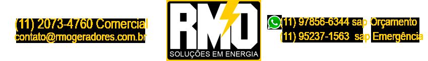 RMO - MANUTENÇÃO DE GERADORES EM SP